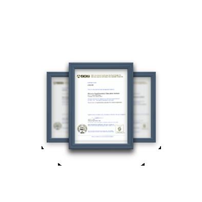 全國第一家補教ISO認證